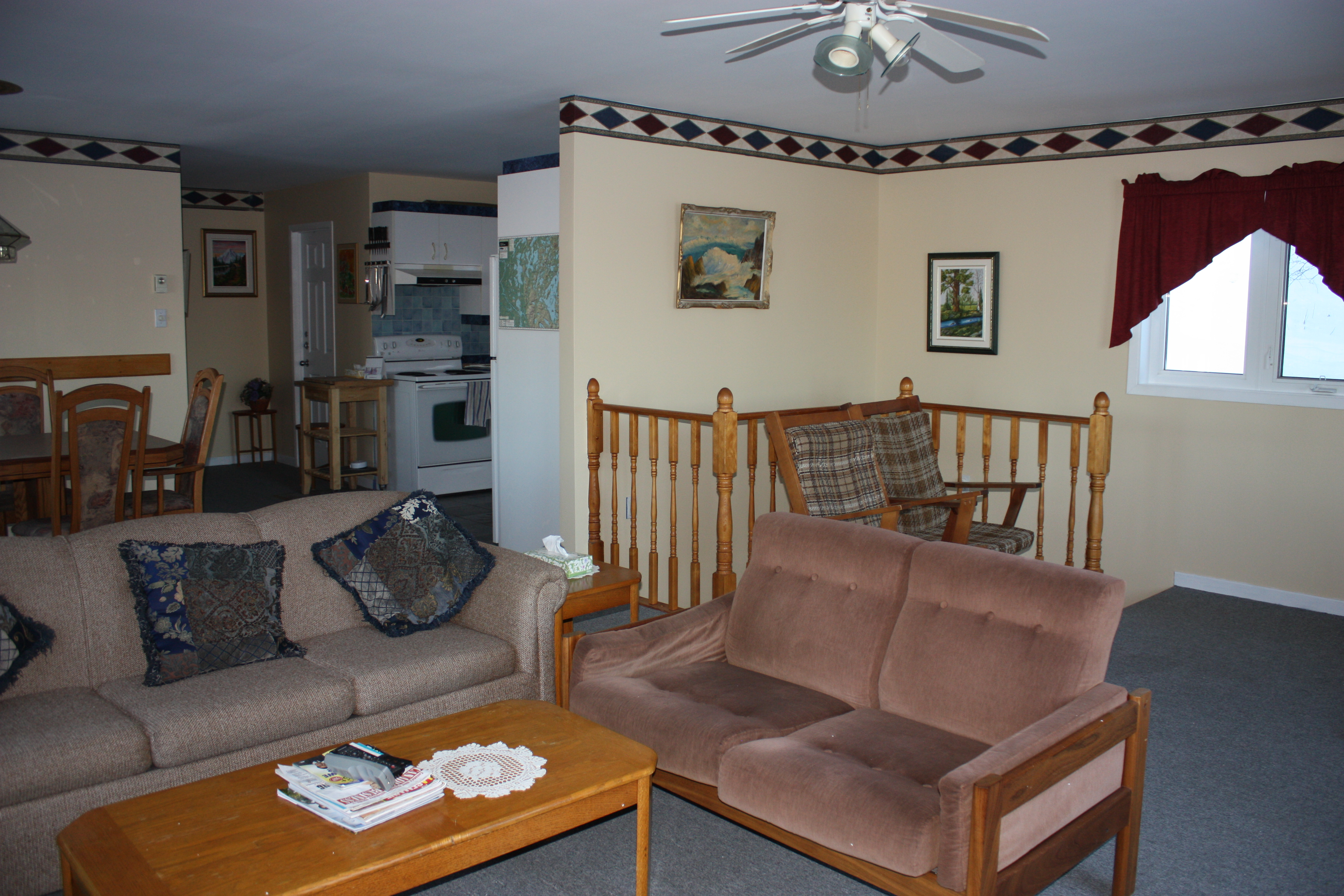 Photo of the Executive Suite Living Room